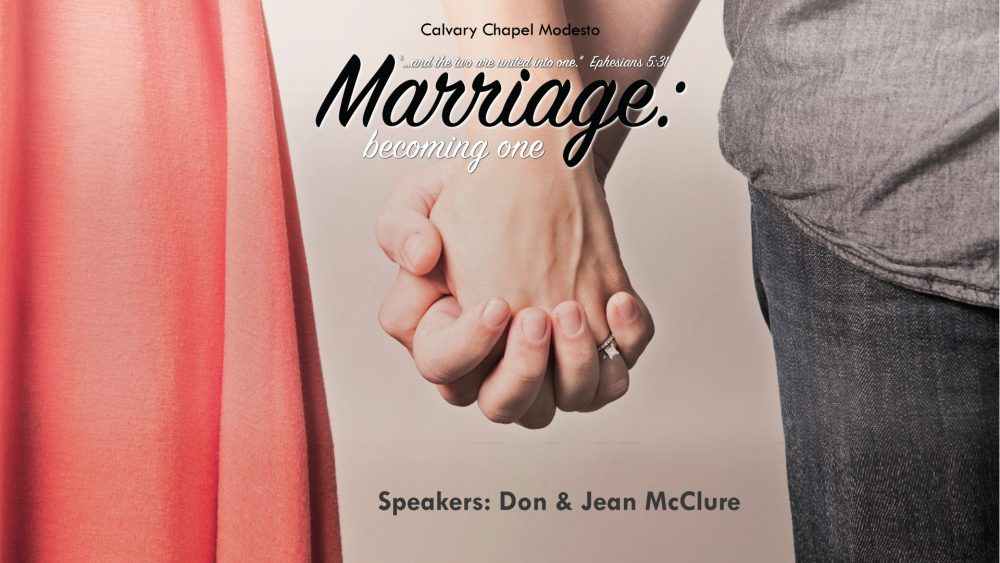 Marriage Conference: Becoming One (2015)