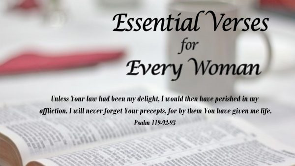 Essential Verses for Every Woman (2017)