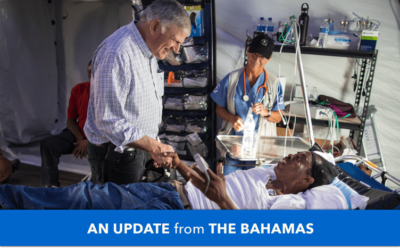 Bahamas Relief: Franklin Graham on the Ground